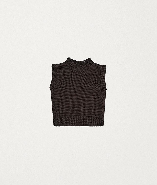 BOTTEGA VENETA PULLOVER IN COTTON Knitwear Woman fp