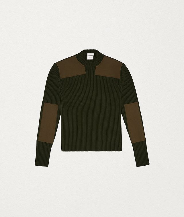 BOTTEGA VENETA SWEATER IN WOOL Knitwear Man fp