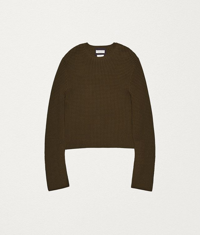 BOTTEGA VENETA PULLOVER IN CASHMERE AND COTTON Knitwear [*** pickupInStoreShippingNotGuaranteed_info ***] fp