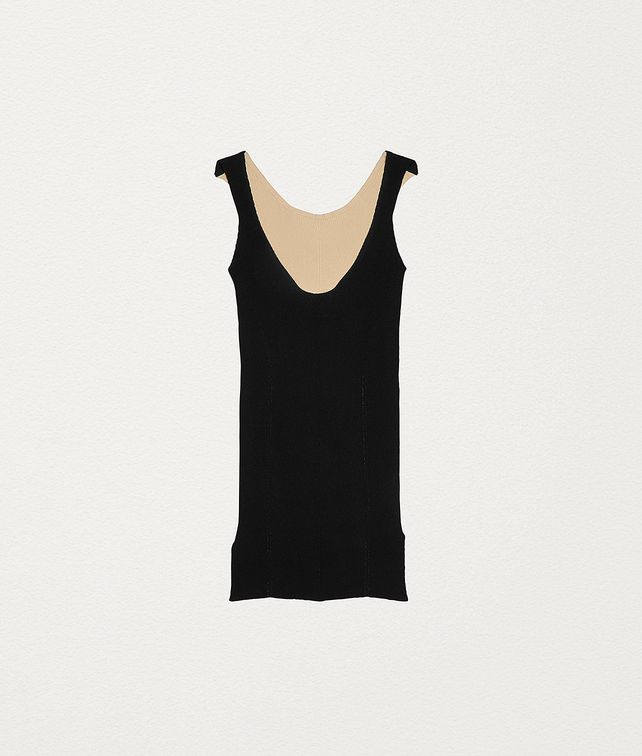 BOTTEGA VENETA KNIT VEST TOP IN VISCOSE Knitwear Woman fp