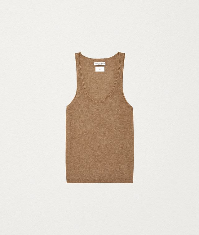 BOTTEGA VENETA VEST TOP IN CASHMERE Knitwear Woman fp
