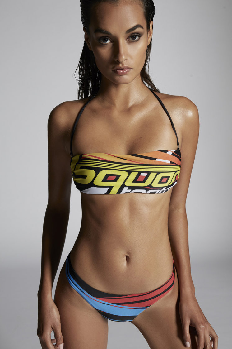DSQUARED2 D2 Bandeau Top Bikini Woman