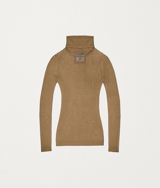 BOTTEGA VENETA PULLOVER IN COTTON AND NYLON  Knitwear Woman fp