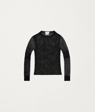 SWEATER IN EMBELLISHED LUREX