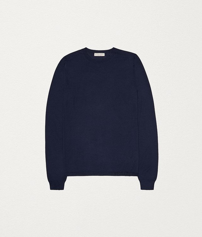 BOTTEGA VENETA SWEATER IN MERINOS WOOL Knitwear Man fp