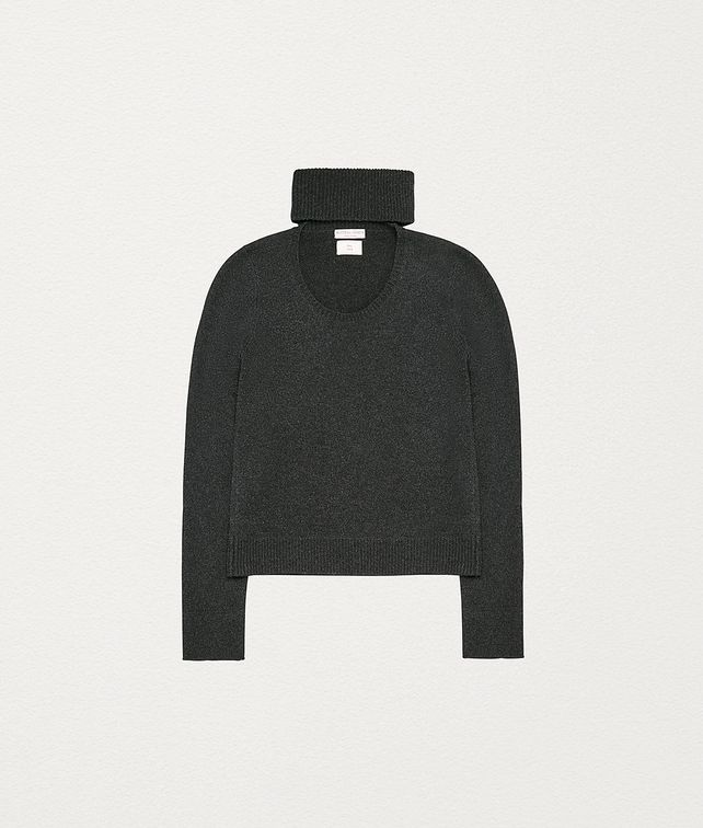 BOTTEGA VENETA SWEATER IN WOOL AND CASHMERE Knitwear Man fp