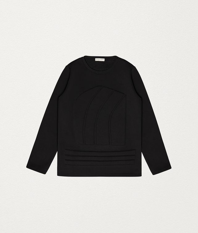 BOTTEGA VENETA SWEATSHIRT IN COTTON Knitwear Man fp