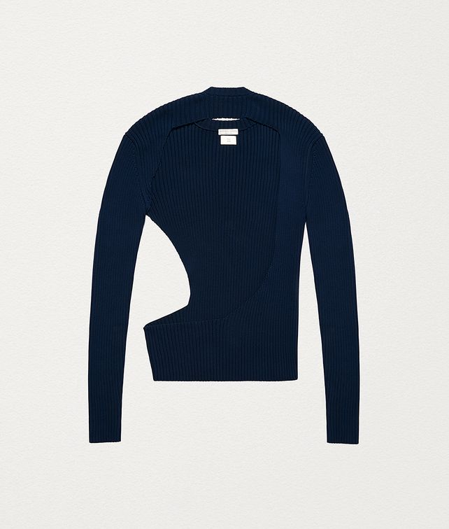 BOTTEGA VENETA SWEATER IN COTTON Knitwear Man fp