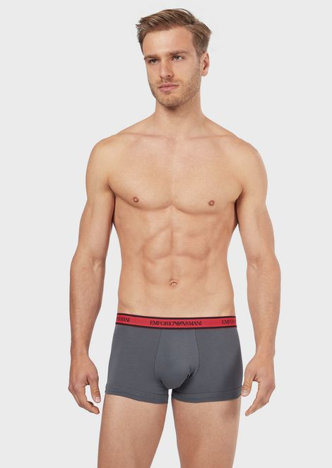 Pack of 3 boxer briefs with logo band