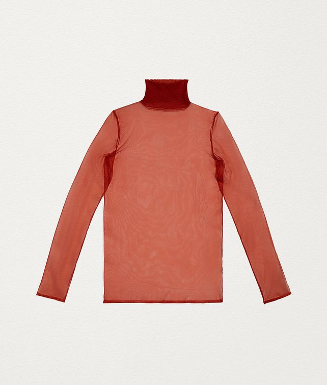 BOTTEGA VENETA TURTLENECK IN NYLON Knitwear Man fp