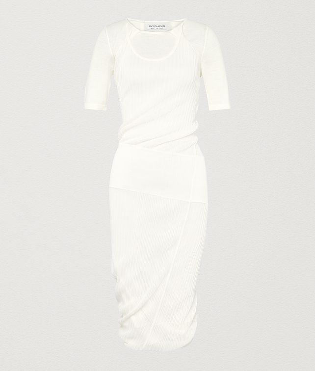 BOTTEGA VENETA DRESS IN SILK Knitwear Woman fp