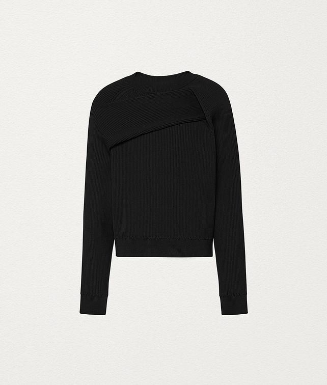 BOTTEGA VENETA SWEATER IN NYLON Knitwear Man fp