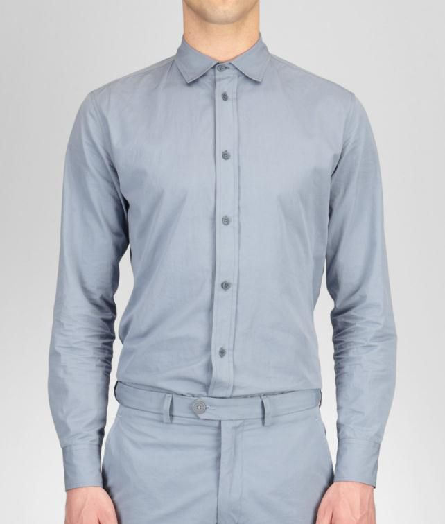BOTTEGA VENETA Washed Light Cotton Shirt Tops, tees and shirts U fp