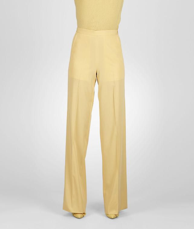 BOTTEGA VENETA Fluid Light Wool Gabardine Pant Skirt or trouser D fp