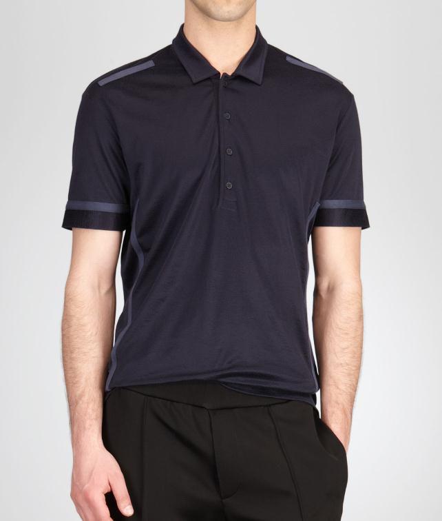 BOTTEGA VENETA Bright Jersey Polo Tops, tees and shirts U fp