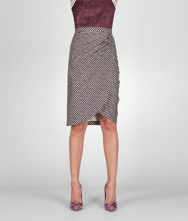 BOTTEGA VENETA Silk Printed Skirt Skirt or pant D fp