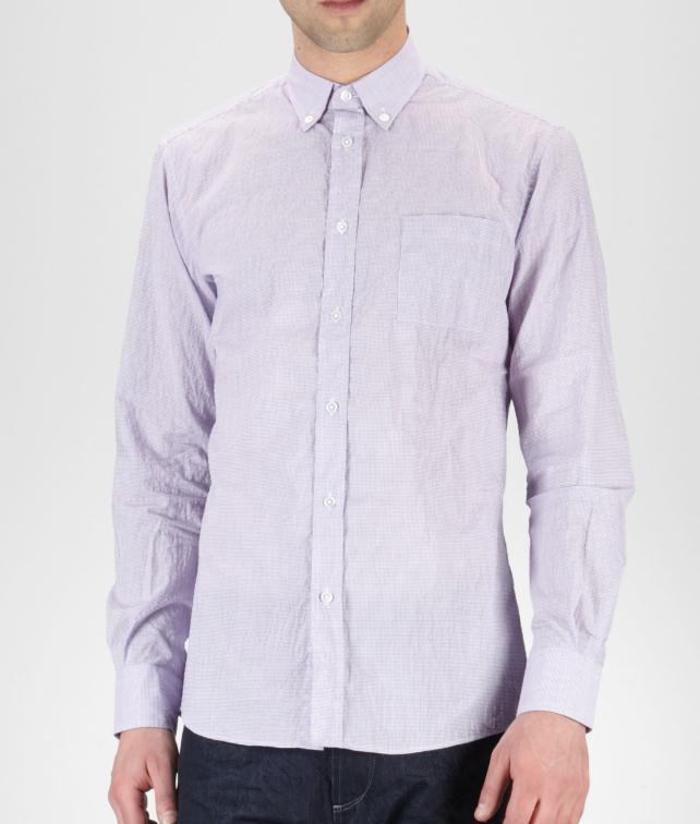 BOTTEGA VENETA Micro Grid Shirt Tops, tees and shirts U fp