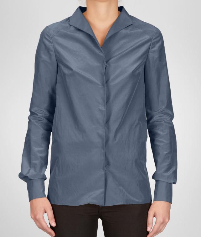 BOTTEGA VENETA Cotton Silk Shirt Sweater and top D fp
