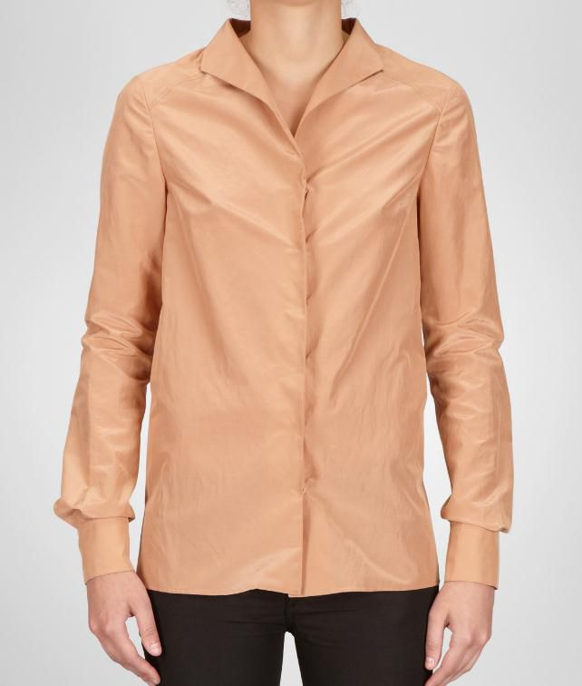 BOTTEGA VENETA Cotton Silk Shirt Sweater and top D fp