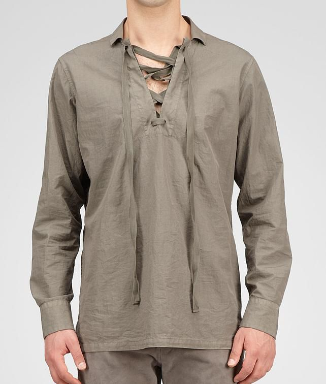 BOTTEGA VENETA Light Cotton Shirt Tops, tees and shirts U fp