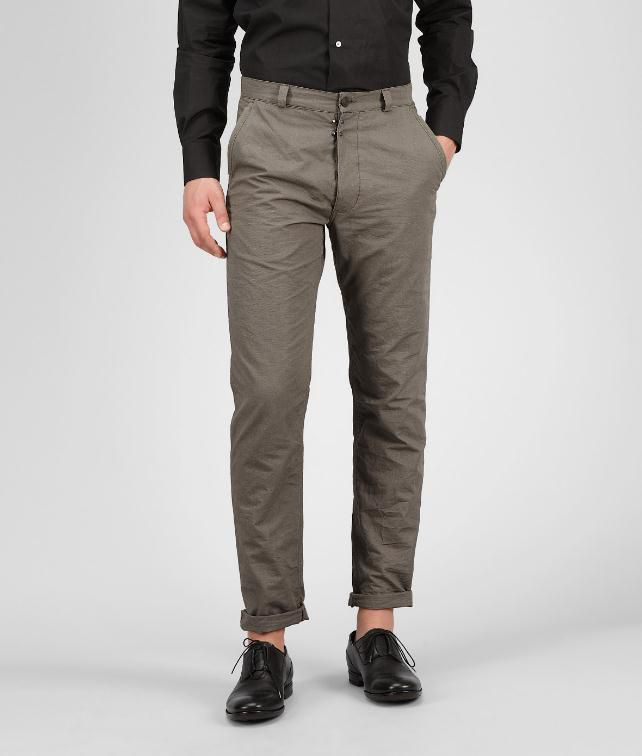 BOTTEGA VENETA Rib Cotton Pant  Jeans or Pant U fp
