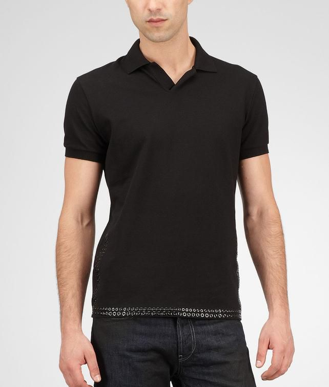 BOTTEGA VENETA Piquet Polo Tops, tees and shirts U fp