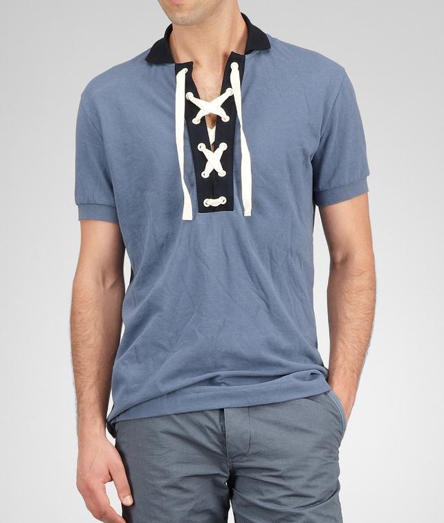 BOTTEGA VENETA Piquet Polo Tops, tees and shirts U fp
