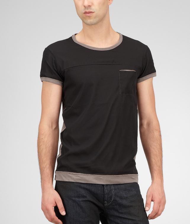 BOTTEGA VENETA Washed Jersey Chiffon T-Shirt Tops, tees and shirts U fp