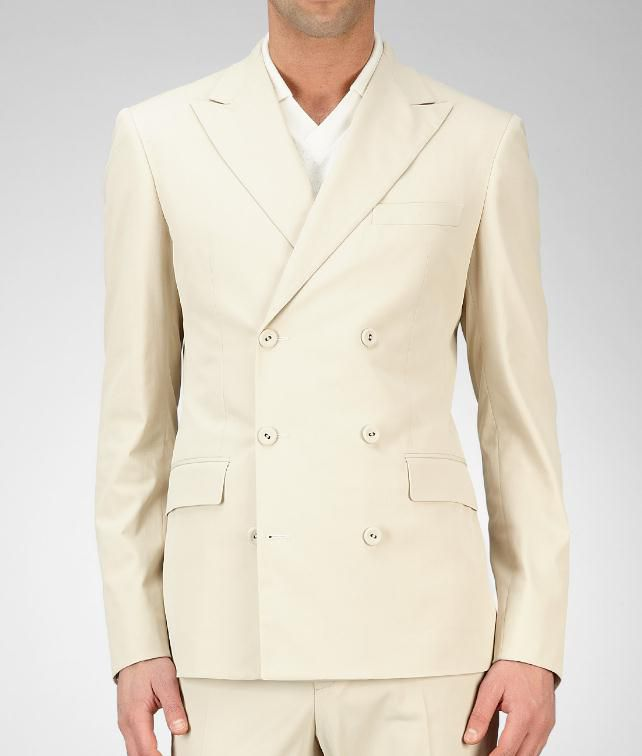 BOTTEGA VENETA Cotton Tecno Gabardine Jacket Coat or Jacket U fp