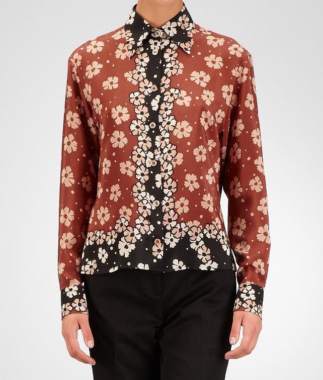 BOTTEGA VENETA Marguerite Foulard Print Top Sweater and top D fp
