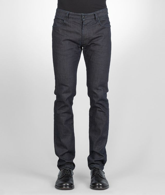 BOTTEGA VENETA Denim Tapered Jeans Hose & Jeans U fp