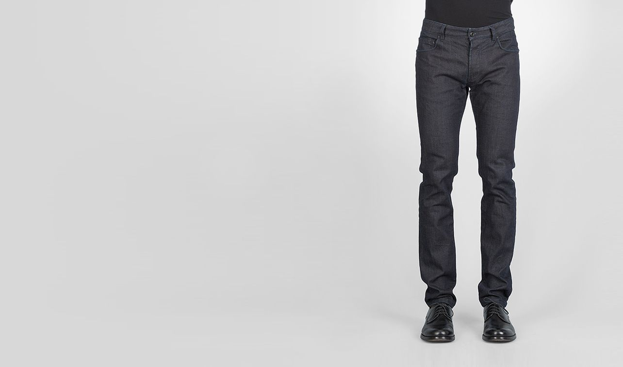BOTTEGA VENETA Trouser or jeans U Tapered Denim pl