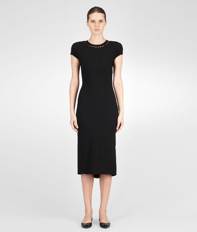 BOTTEGA VENETA Viscose Pleated Dress Dress D fp