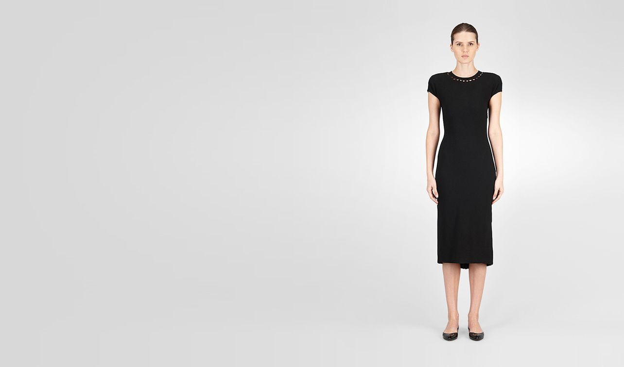 BOTTEGA VENETA Dress D Viscose Pleated Dress pl