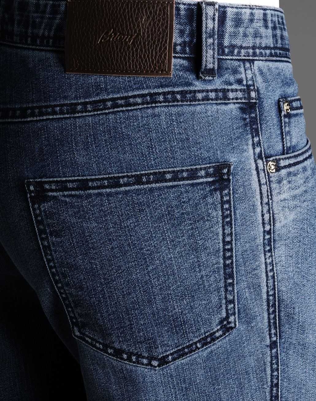 BRIONI FIVE-POCKETS Denim U d