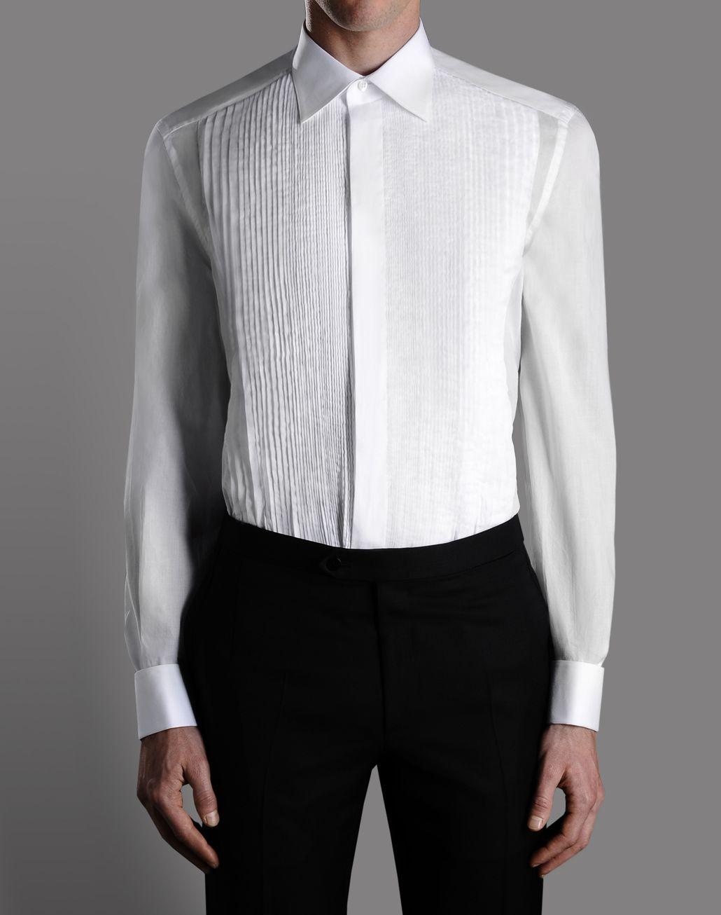 BRIONI TUXEDO SHIRT Shirt U r