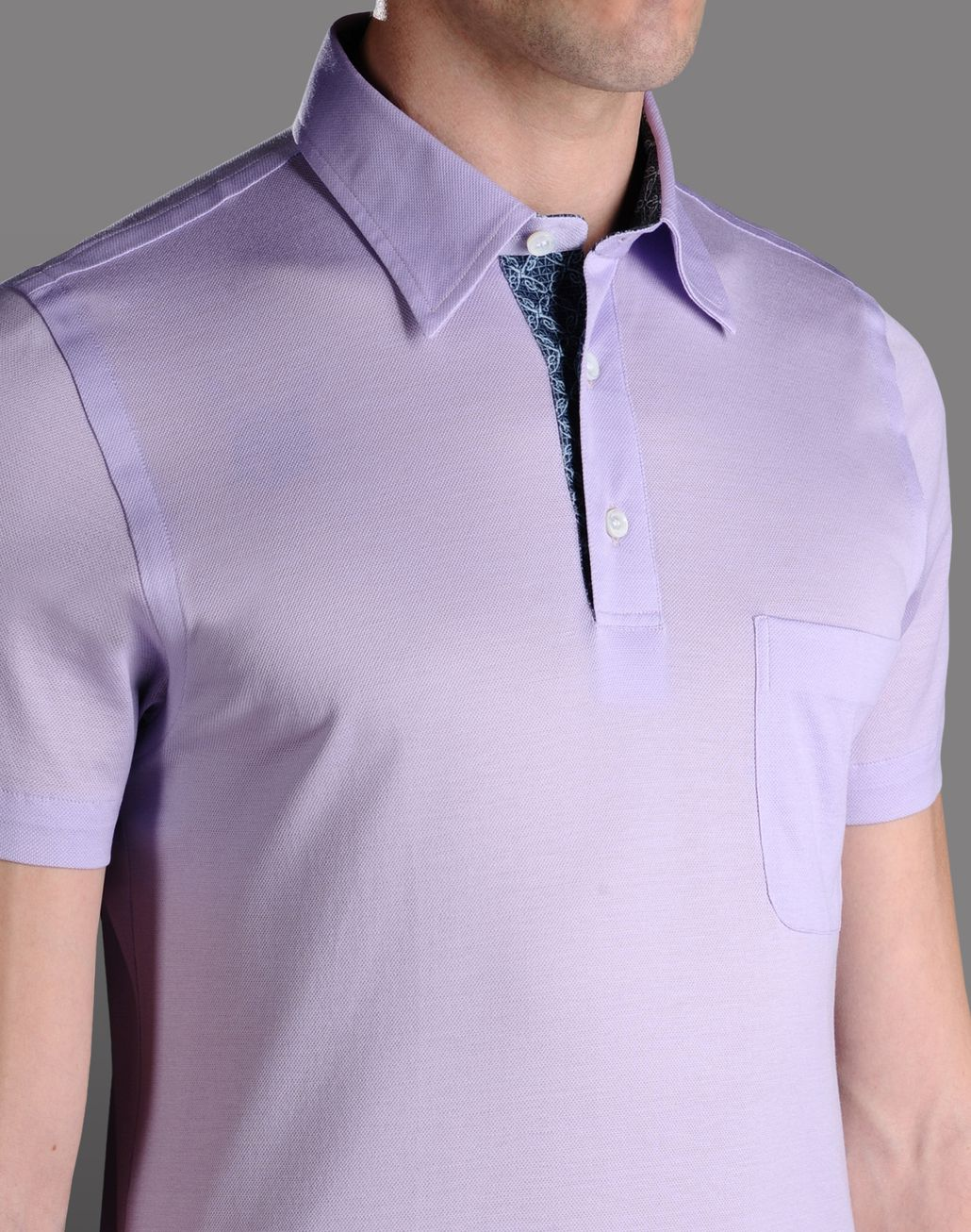 BRIONI POLO SHIRT  T-Shirts & Polos U d