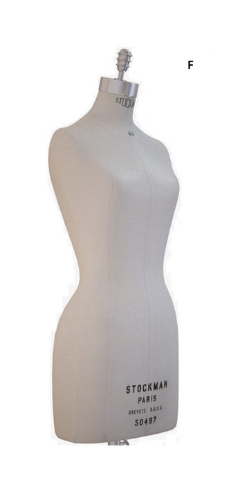 BALENCIAGA Kleid D Balenciaga Kleid in Strukturoptik mit Knopfleiste f