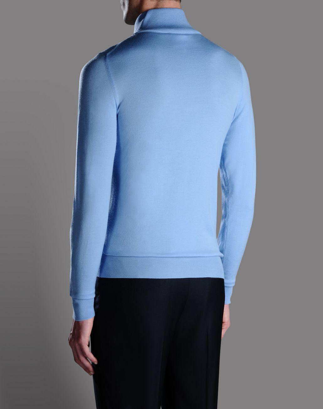 BRIONI ZIP TURTLE NECK Knitwear U r