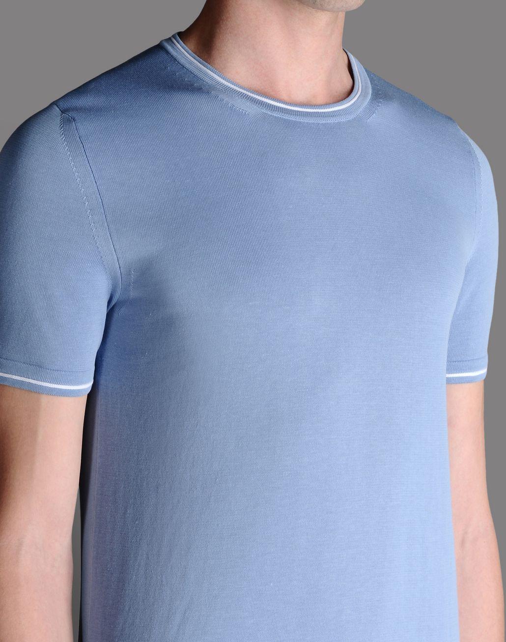 BRIONI CREW NECK JUMPER T-Shirts & Polos U d