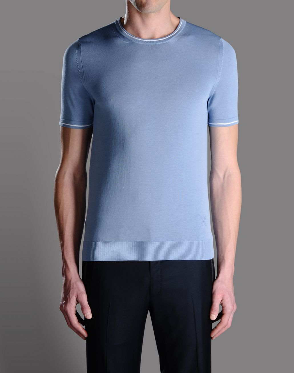 BRIONI CREW NECK JUMPER T-Shirts & Polos U f