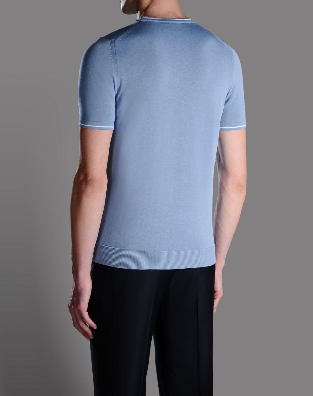 BRIONI CREW NECK JUMPER T-Shirts & Polos U r