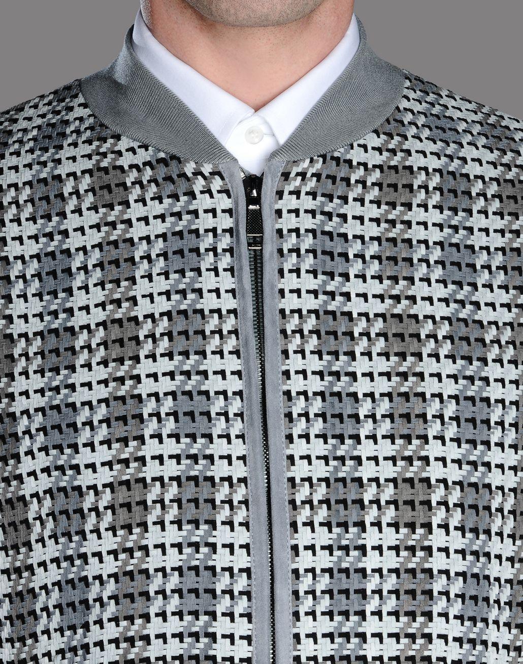 BRIONI CROSSING SUEDE BOMBER Outerwear U d