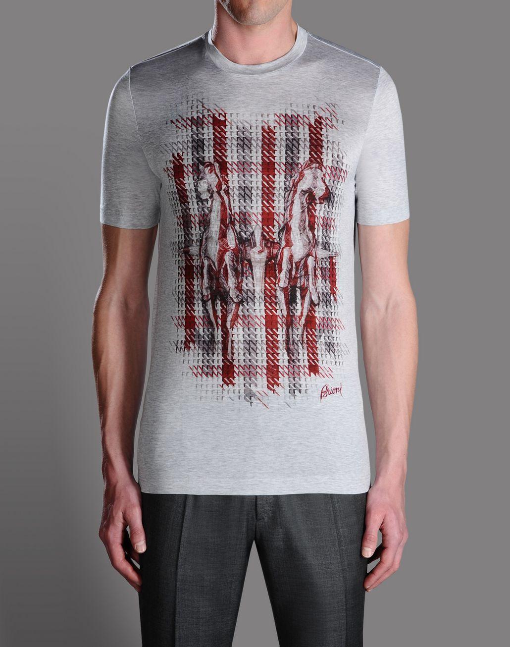 BRIONI CREWNECK T-Shirts & Polos U f