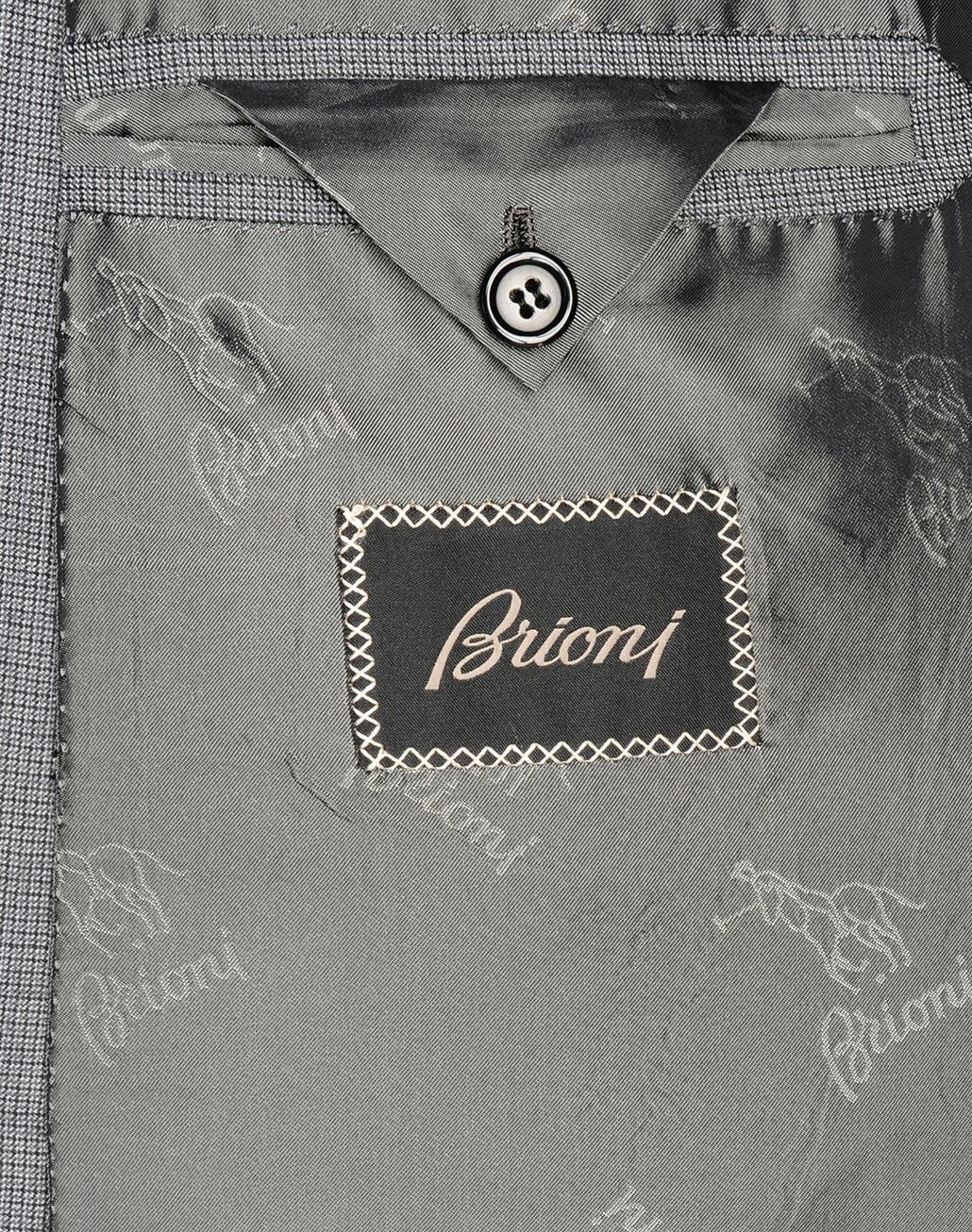 BRIONI wool and silk suit Suits & Jackets U a
