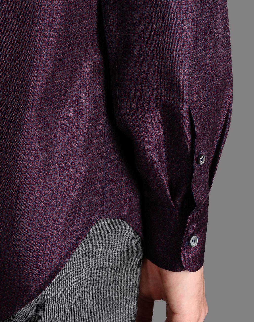 BRIONI printed silk shirt Shirt U e
