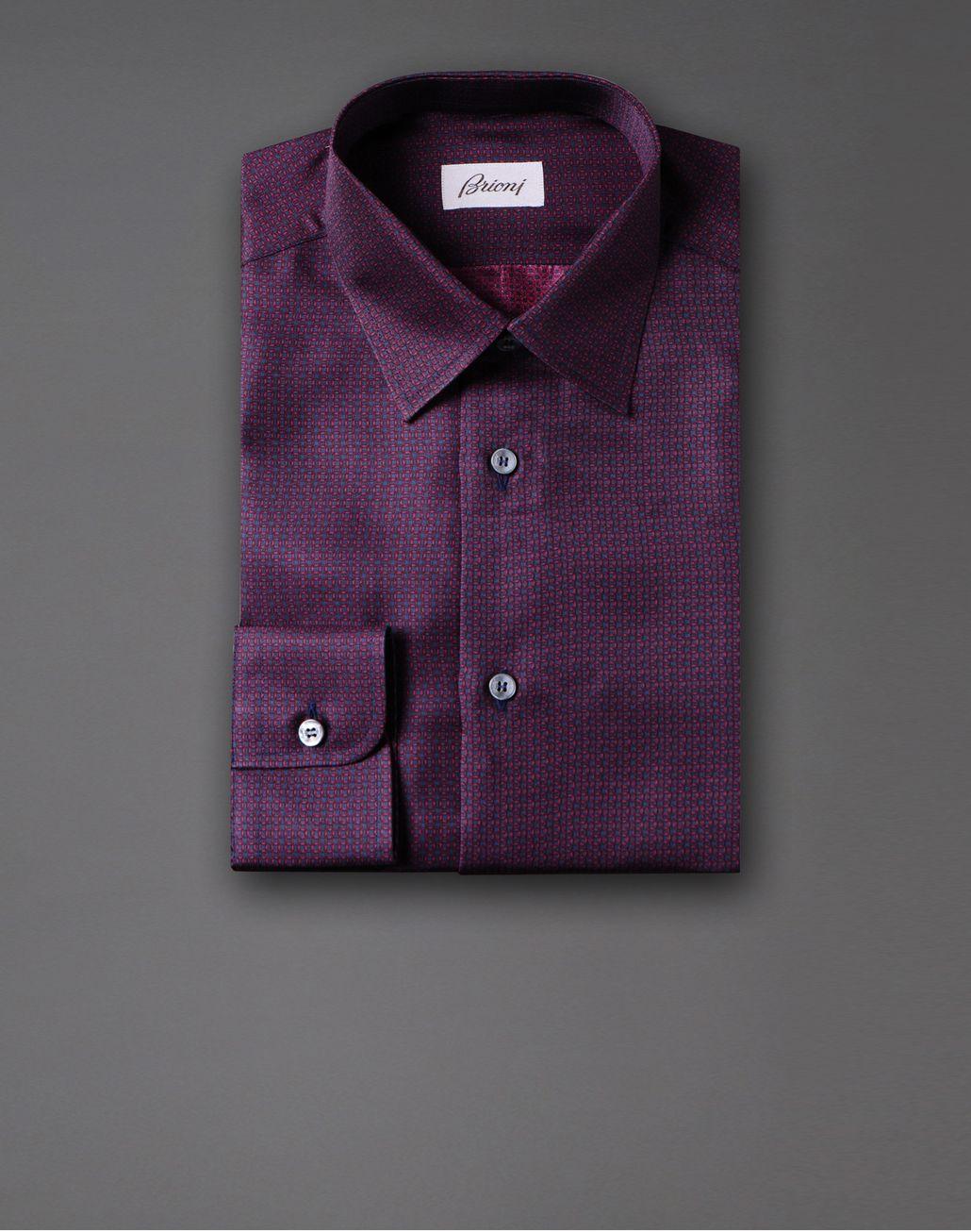 BRIONI printed silk shirt Shirt U f