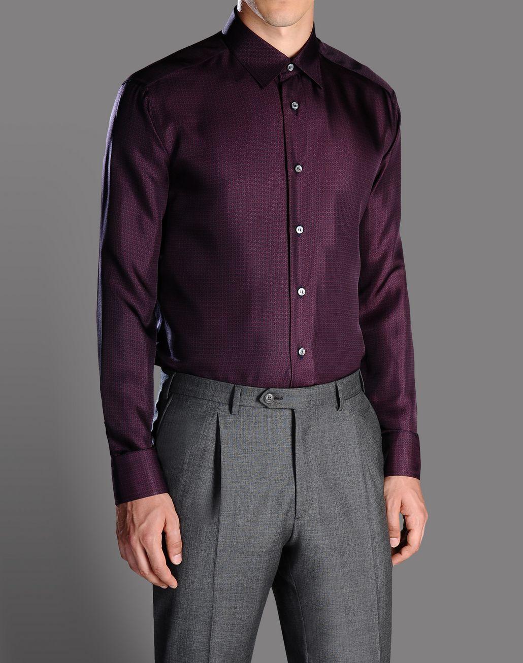BRIONI printed silk shirt Shirt U r