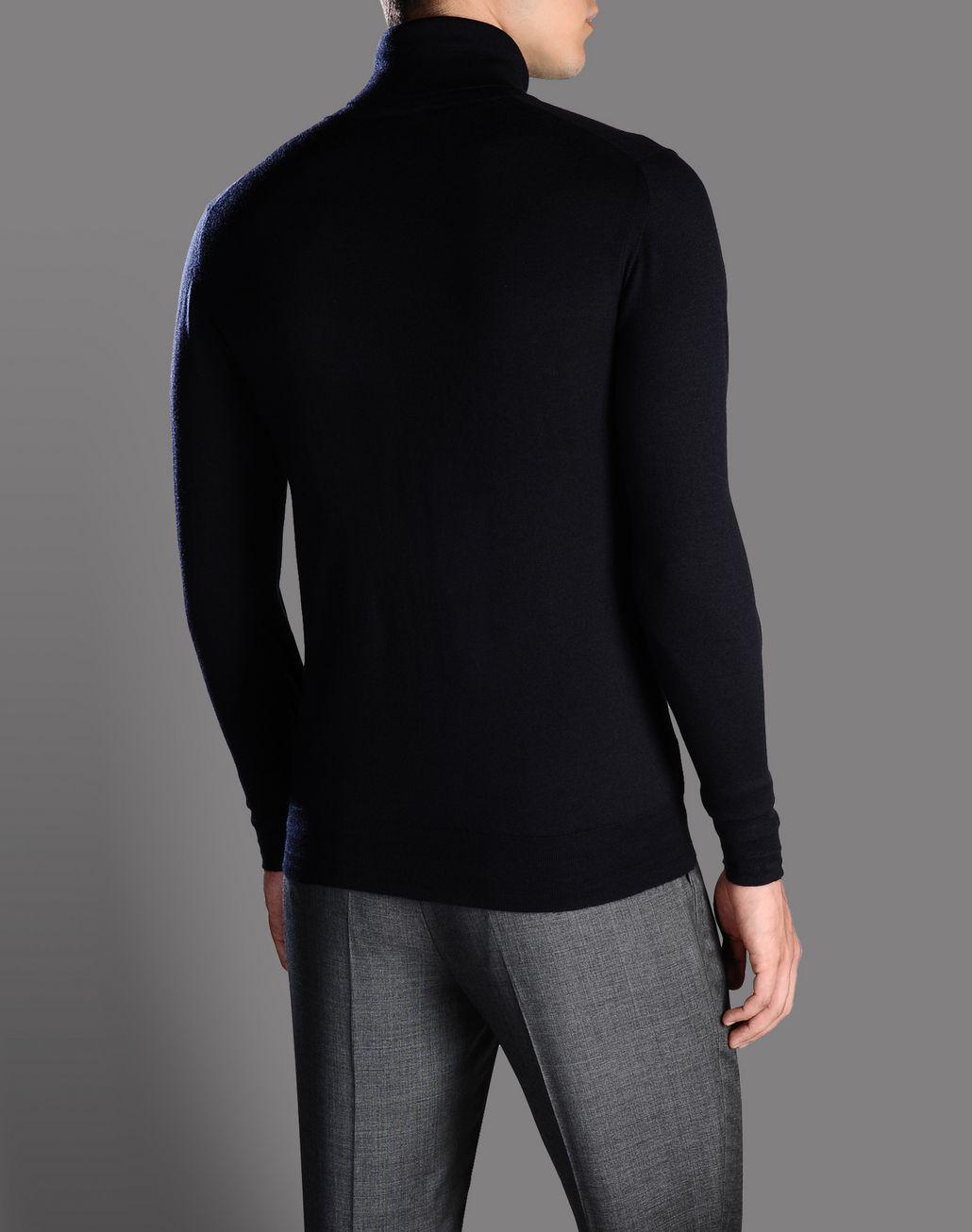 BRIONI cashmere and silk turtleneck Knitwear U r