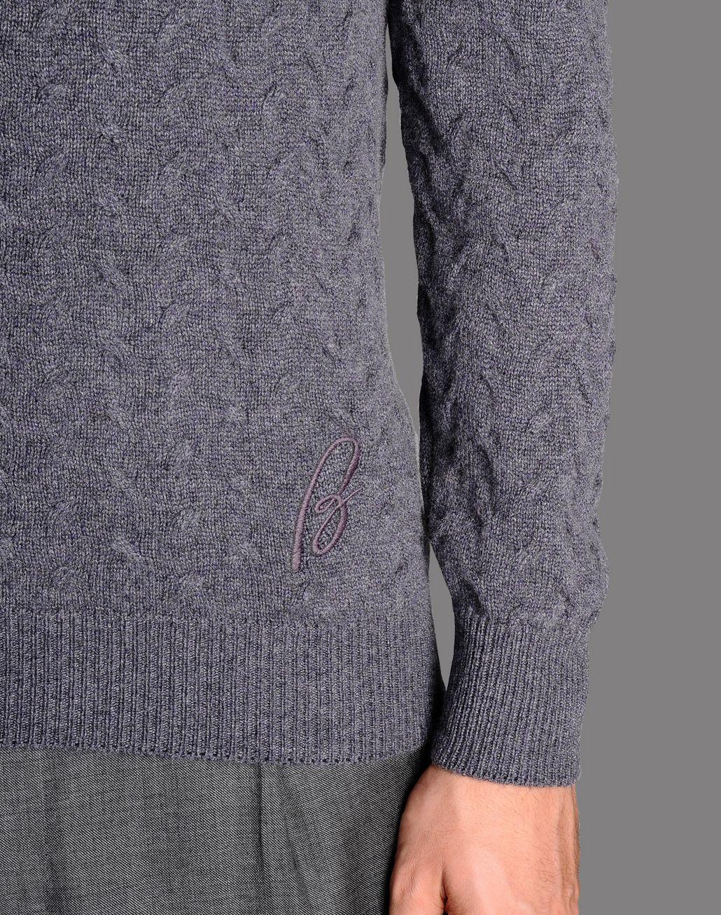 BRIONI cable knit cashmere jumper Knitwear U d